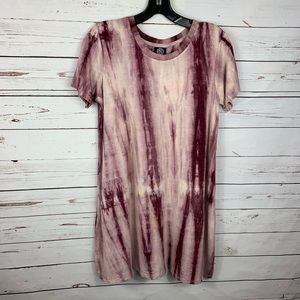 Bobeau Tie Dye T-Shirt Dress